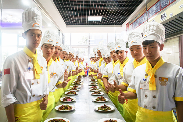 天津附近哪有好的学厨师的学校