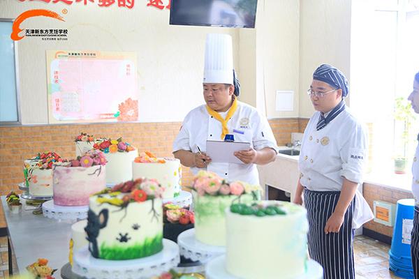 天津新东方烹饪学校西点考核