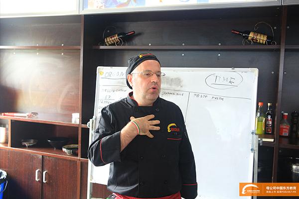 外籍大师Riccardo授课
