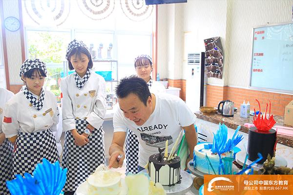 天津新东方烹饪学校西点考核!