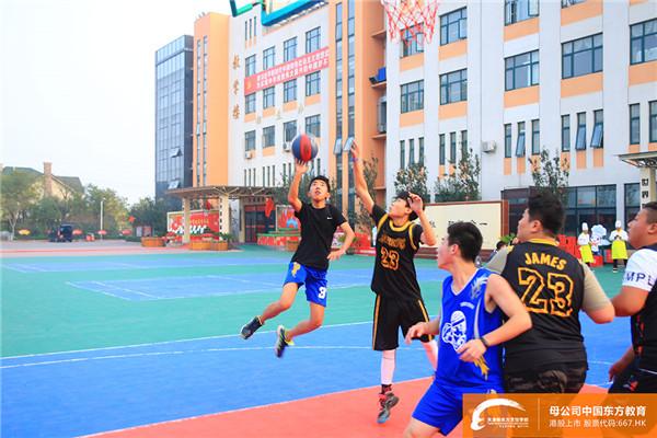 天津新东方篮球赛|热血球场,不负青春!