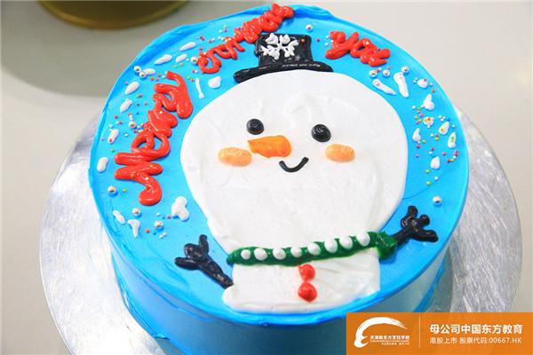 """天津新东方圣诞蛋糕甜蜜DIY,大家一起""""糕""""事情!"""