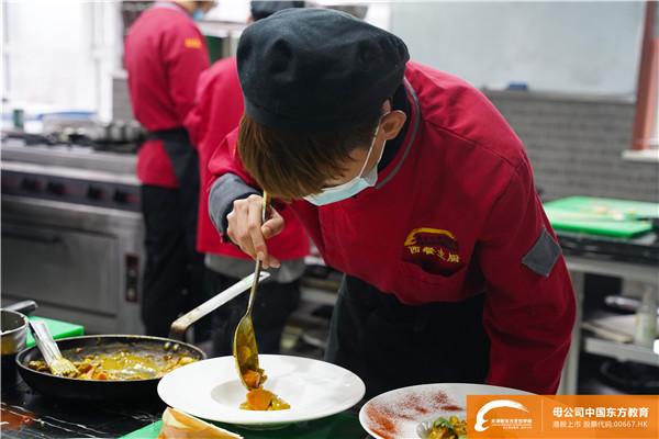 天津新东方2021西餐热菜考核